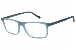 PIERRE CARDIN FRAME FOR MEN SQUARE BLUE - 6202  FLL