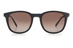 نظارة شمسية Pierre Cardin للرجال مربع لون أسود و فضي  - 6234S 003/HA