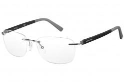 نظارة طبية PIERRE CARDIN للرجال والنساء مربع لون أسود - 6831   UJM