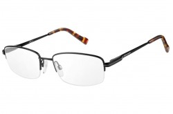PIERRE CARDIN FRAME FOR MEN SQUARE BLACK MATT - 6841   003