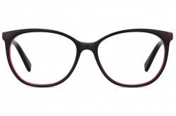 PIERRE CARDIN FRAME FOR WOMEN CAT EYE BLACK AND RED - 8479 OIT