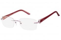 نظارة طبية PIERRE CARDIN للنساء مربع لون زهري - 8778  66W