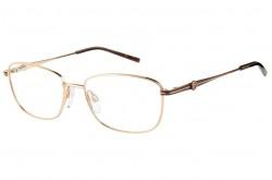 نظارة طبية PIERRE CARDIN للنساء مربع لون ذهبي - 8837  DDB