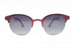 QMARINES SUNGLASS FOR UNISEX CLUBMASTER RED - QM1614  02