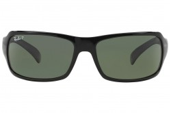 RAYBAN  SUNGLASS FOR MEN  RECTANGLE BLACK - RB4075  601/58