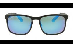 نظارة شمسية RAYBAN  للرجال مربع لون أسود - RB4264 601SA1