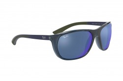 RAYBAN  SUNGLASS FOR MEN SQUARE BLUE - RB4307  6438/55