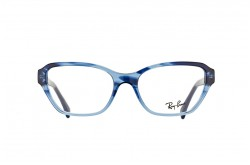 RAYBAN FRAME FOR UNISEX CATEYE GRADIENT BLUE - RB5341 5572