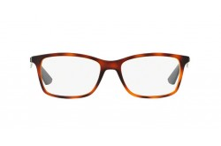 RAYBAN FRAME FOR UNISEX RECTANGLE TIGER AND GRAY - RB7047 5574