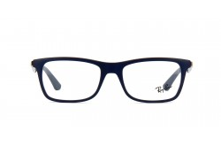 RAYBAN FRAME FOR UNISEX SQUARE BLUE AND GUN METAL - RB7062 5575