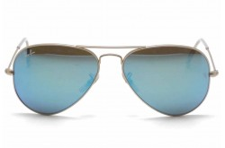 RAYBAN  SUNGLASS FOR UNISEX AVIATOR GOLD - RB3025  112/17