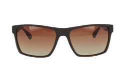 ROMANTIC SUNGLASS FOR UNISEX RECTANGLE BLACK AND GOLD - RO3404 C4