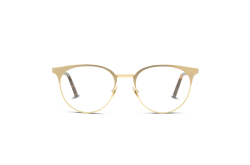 SAINT LAURENT FRAME FOR WOMEN CAT EYE GOLD AND BLACK - SL223 004