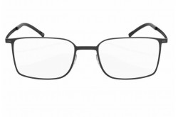 SILHOUETTE FRAME FOR UNISEX SQUARE BLACK AND BROWN - 2884/40 6054