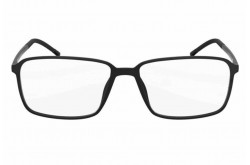 SILHOUETTE FRAME FOR UNISEX SQUARE BLACK - 2887/10 6050