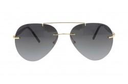 SMAX SUNGLASS FOR MEN AVIATOR GOLD AND BLACK - SM3374 10