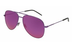 SAINT LAURENT SUNGLASS FOR UNISEX AVIATOR PURPLE - CLASSIC 11   034