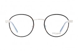 SAINT LAURENT FRAME FOR UNISEX ROUND SILVER - SL 125   005