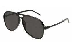SAINT LAURENT SUNGLASS FOR MEN AVIATOR BLACK - SL 228  002