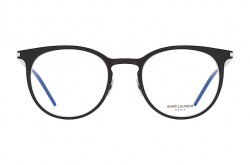 SAINT LAURENT FRAME FOR UNISEX ROUND BLACK - SL 267  001