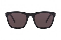 SAINT LAURENT SUNGLASS FOR MEN SQUARE BLACK - SL 281 SLIM