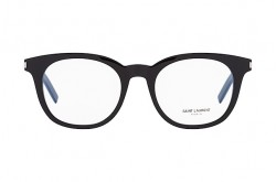 SAINT LAURENT FRAME FOR UNISEX ROUND BLACK - SL 289/F  SLIM 001