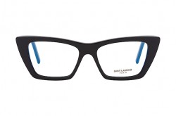 SAINT LAURENT FRAME FOR WOMEN CAT EYE BLACK - SL 291  001