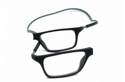 TICK FRAME FOR MEN SQUARE BLACK AND GRAY - TICK 1  C5