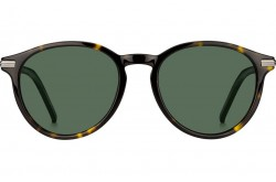 TOMMY HILFIGER SUNGLASS FOR MEN ROUND BLACK - TH1673/S  IWI/QT