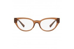 VERSACE FRAME FOR WOMEN OVAL TRANSPARENT BROWN - VE3282 5028