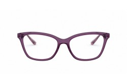 VOGUE FRAME FOR WOMEN CAT EYE TRANSPARENT PUROLE AND SILVER - VO5285 2761