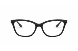 VOGUE FRAME FOR WOMEN CAT EYE BLACK AND SILVER - VO5285 W44