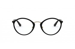 VOGUE FRAME FOR WOMEN CAT EYE BLACK AND GOLD - VO5286 W44