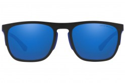 EMPORIO ARMANI SUNGLASS FOR MEN SQUARE BLUE AND WHITE - EA4114  5673/55