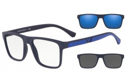 EMPORIO ARMANI SUNGLASS FOR FRAME MEN SQUARE BLUE - EA4115  5759/1W