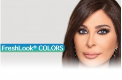 FRESH LOOK COLORS MONTHLY CONTACT LENSES - 2 LENS IN BOX