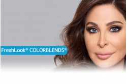 FRESH LOOK COLORBLENDS MONTHLY CONTACT LENSES  - 2 LENS IN BOX