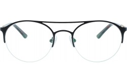 VARIETY FRAME FOR UNISEX ROUND BLACK AND TIGER - 10029  02