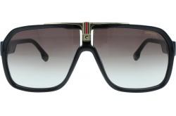 نظارة شمسية CARRERA للرجال مربع لون أسود - 1014S   807HA