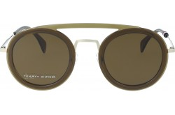 TOMMY HILFIGER SUNGLASS FOR WOMEN ROUND GOLD - 1541  10A70
