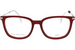 نظارة طبية TOMMY HILFIGER للنساء دائري لون أحمر - 1558 C9A18