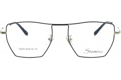 STAMINA FRAME FOR UNISEX SQUARE BLACK AND GOLD - 16058  C18