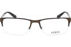 نظارة طبية GUESS للنساء مستطيل لون ذهبي - 1892  049