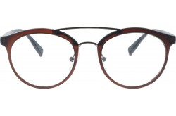VARIETY FRAME FOR UNISEX ROUND BROWN - 23043  3M