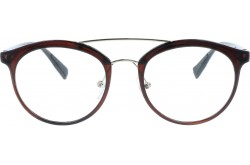 VARIETY FRAME FOR UNISEX ROUND BROWN - 23043  3S