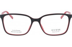 GUESS FRAME FOR WOMEN SQUARE BLACK AND RED - 3016 050