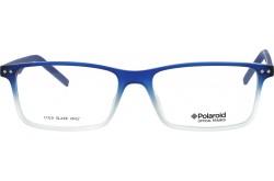 نظارة طبية POLAROID  للرجال والنساء مستطيل لون أزرق - 336  OMX