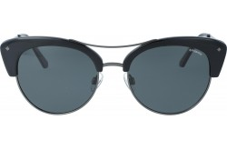POLAROID  SUNGLASS FOR WOMEN ROUND BLACK AND GRAY - 4045  CVSY2