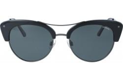 نظارة شمسية POLAROID  للنساء دائري لون أسود ورمادي - 4045  CVSY2