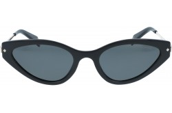 POLAROID  SUNGLASS FOR WOMEN SQUARE BLACK - 4074S  807M9